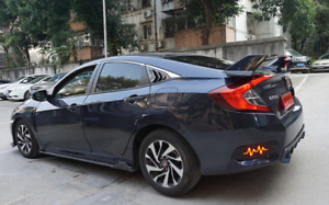 Type R style spoiler for 2016-2018 Honda Civic Sedan
