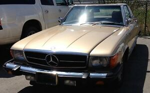 1984 MercBenz 380SL Coupe Roadster - 3.8L V8 Engine