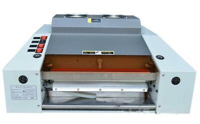 New A3 13in Width Uv Coater Laminating Photo Coating Laminator Machine 220v