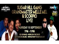 A chance to catch Sugar Hill Gang, Grandmaster Melle Mel & Scorpio LIVE in Leicester !!!