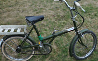 Antique Bicycle - Adult Folding Bike