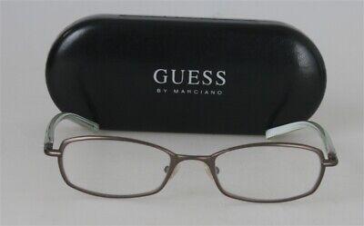 GUESS GU 1280 Braun Brille Brillengestell Damen Herren Eyeglasses Vollrand NEU.. (Herren Guess Brillengestelle)