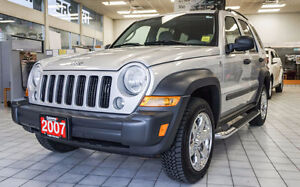 2007 Jeep Liberty Sport 4x4. ONLY 112k kms!