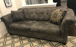 Grey Hartigan sofa from Ashley Furniture