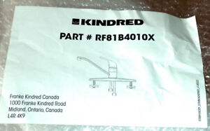 """""""KINDRED"""", BRAND NEW, UNOPENED KITCHEN FAUCET"""