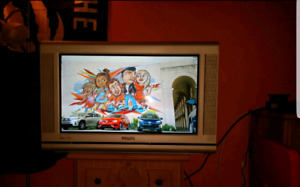 "Philips 30"" HD CRT w/Remote"