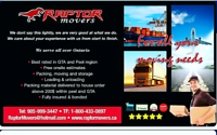 Best rates for 20-15.85$2men+85$for 24ft truck call9059993447