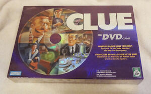 Never Opened Clue DVD Game