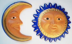 Ensembles soleil & lune mexicains/Handcrafted mexican sun & moon