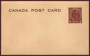CANADA POSTAL STATIONARY POST CARD SCOTT UX77 STAMPS