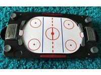 Desktop air hockey game