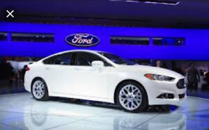 2013 ford fusion titanium all wheel drive ready for winter!!