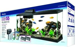Aqueon kit aquarium 55 gallons led neuf  www.aquarium-depot.ca