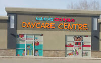 Space Available in Daycare for Registration