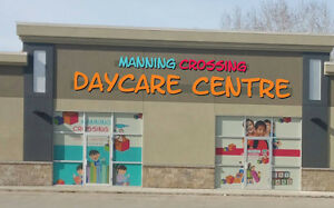 Space Available in Daycare for Registration & Job Opportunites