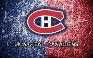 2 billets Canadiens contre Flyers Lundi 24 Oct