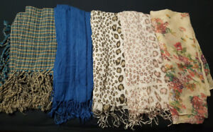 5 Beautiful Scarves