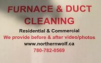Furnace and duct/dryer cleaning