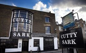 Talented Demi Chef de Partie for The Cutty Sark in Greenwich