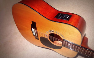 12 String Acoustic Electric - Beaver Creek  - $245
