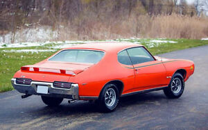 1969 GTO FLOOR-MOUNT 8-track/player