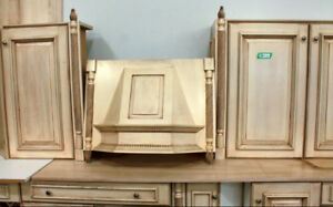 Kitchen Cabinets - Antiqued Finish
