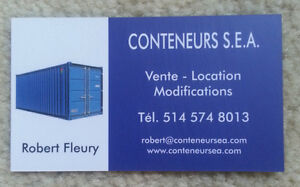 Conteneurs maritime Containers