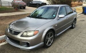 Mazdaspeed protege parts out