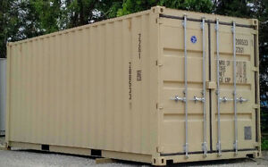 NEW Steel 20ft storage boxes to keep belongings safe!!