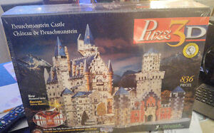 Puzz 3D Cologne Cathedral & Neuschwanstein Castle