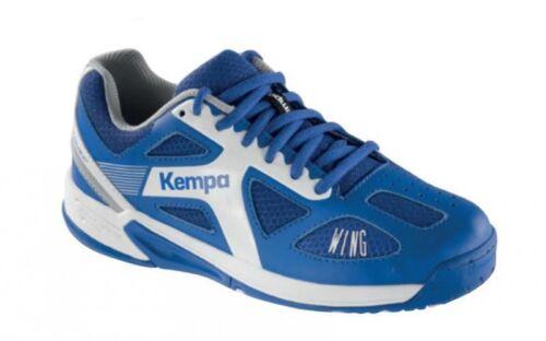 Kempa Handball Schuhe, Sportschuhe FLY HIGH WING JUNIOR, Kinder, royal/weiß