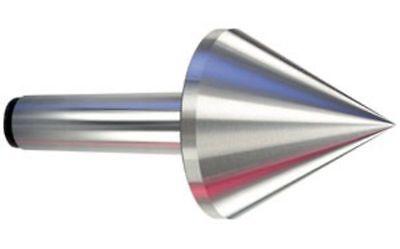 Precision Bull Nose Pointed Live Revolving Center Mt 2 - New 2 Morse Taper