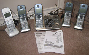 Panasonic DECT 6.0 Cordless Phones - in EXCELLENT CONDITION!