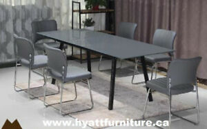 Brand new 7pcs Glass top Dinette only $598 - We deliver in GTA