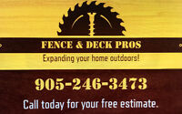 Fence & Deck Pros
