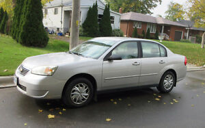 2006 Chevrolet Malibu LS Sedan, low millage