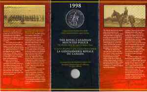 The RCMP Commemorative Sterling Silver Dollar (1998) West Island Greater Montréal image 1