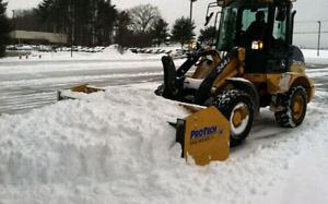 Commercial snow removal & ice management