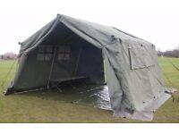 Ex Military 9x9 Frame tent