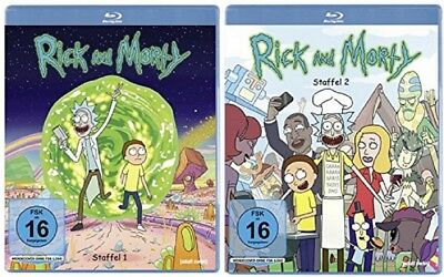 Rick & Morty Staffel 1+2 Blu-ray Set NEU OVP (and,und)