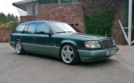 Mercedes W124 E220 7 Seater