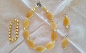 Gorgeous Hand Made Beaded Necklace/Earring Sets