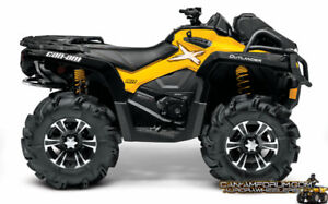 Wanted 2015 Can Am Outlander 800r XMR parts