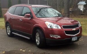 2012 Chevrolet Traverse LT AWD Prince George British Columbia image 1