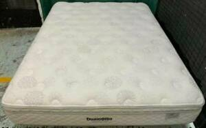 Excellent white Pillow Top queen bed mattress only for sale #16
