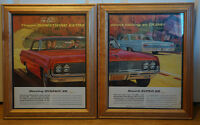 Authentic 1962 Dynamic 88 - Oldsmobile Large Ads - LOOK!