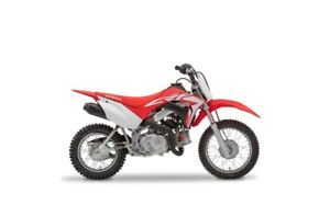 2020 Honda CRF110F ROUGE EXTRÊME
