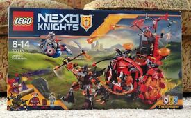 Lego Nexo Knights Jestro Mobile New