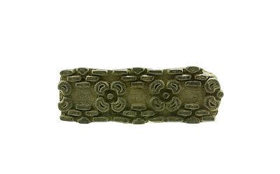 Antique Bunta Stamped Wood Printing Fabric Textile Batik Antique India X09
