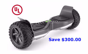 8.5'' Inflatable 2 Wheels Hummer Hoverboard-Save $300